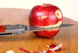 りんごとナイフ